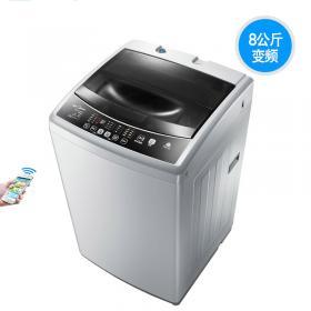 Midea/美的 MB80-eco31WD 8公斤变频洗衣机全自动波轮智能大容量 省电静音 0.9洗净比 洗得更干净