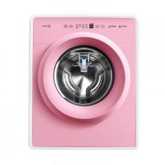 小吉 宝宝儿童家用小型全自动婴儿迷你滚筒洗衣机高温煮洗杀菌 杀菌安全 DD变频电机 睡眠级静音