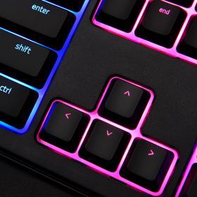 Razer雷蛇 雨林狼蛛幻彩版 Ornata Chroma 机械式薄膜游戏键盘