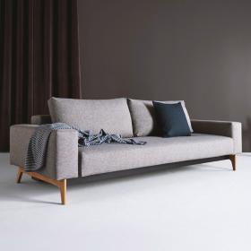 丹麦innovation北欧小户型客厅双人多功能沙发床三人布艺沙发IDUN 原创设计 独立簧坐垫 欧美同款 欧标品质